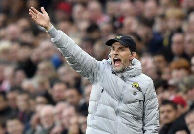 Le manager de Chelsea Thomas Tuchel réagit le 16 octobre 2021