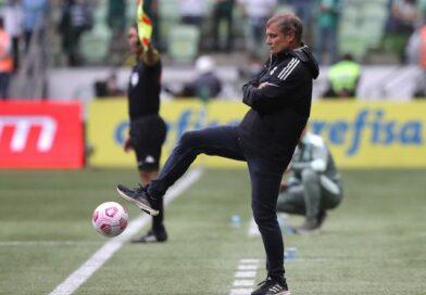 L'entraîneur international Diego Aguirre le 17 octobre 2021